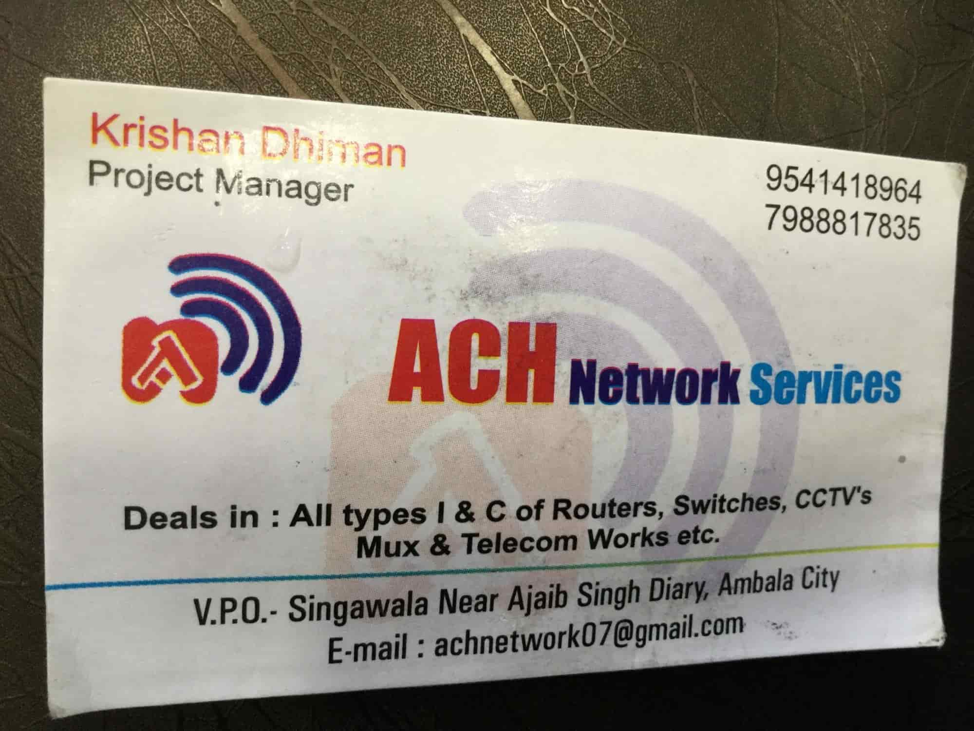 ACH Network Services Photos, Ambala City, Ambala- Pictures & Images ...