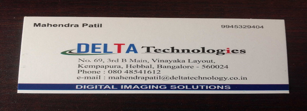 Delta Technologies, Hebbal - Identity Card Printing Machine Dealers ...