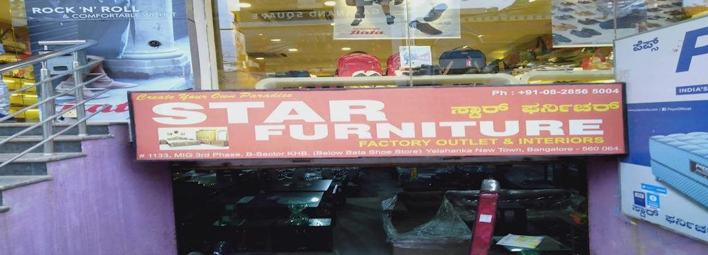 Star Furnitures Yelahanka New Town Furniture Dealers In
