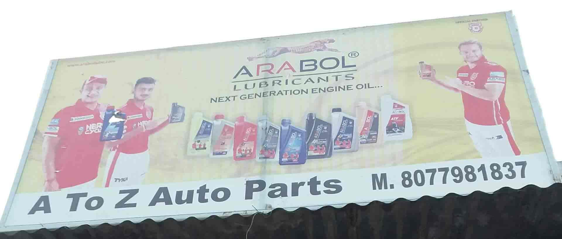 A To Z Auto Parts >> A To Z Auto Parts Air Force Station Bareilly Motorcycle