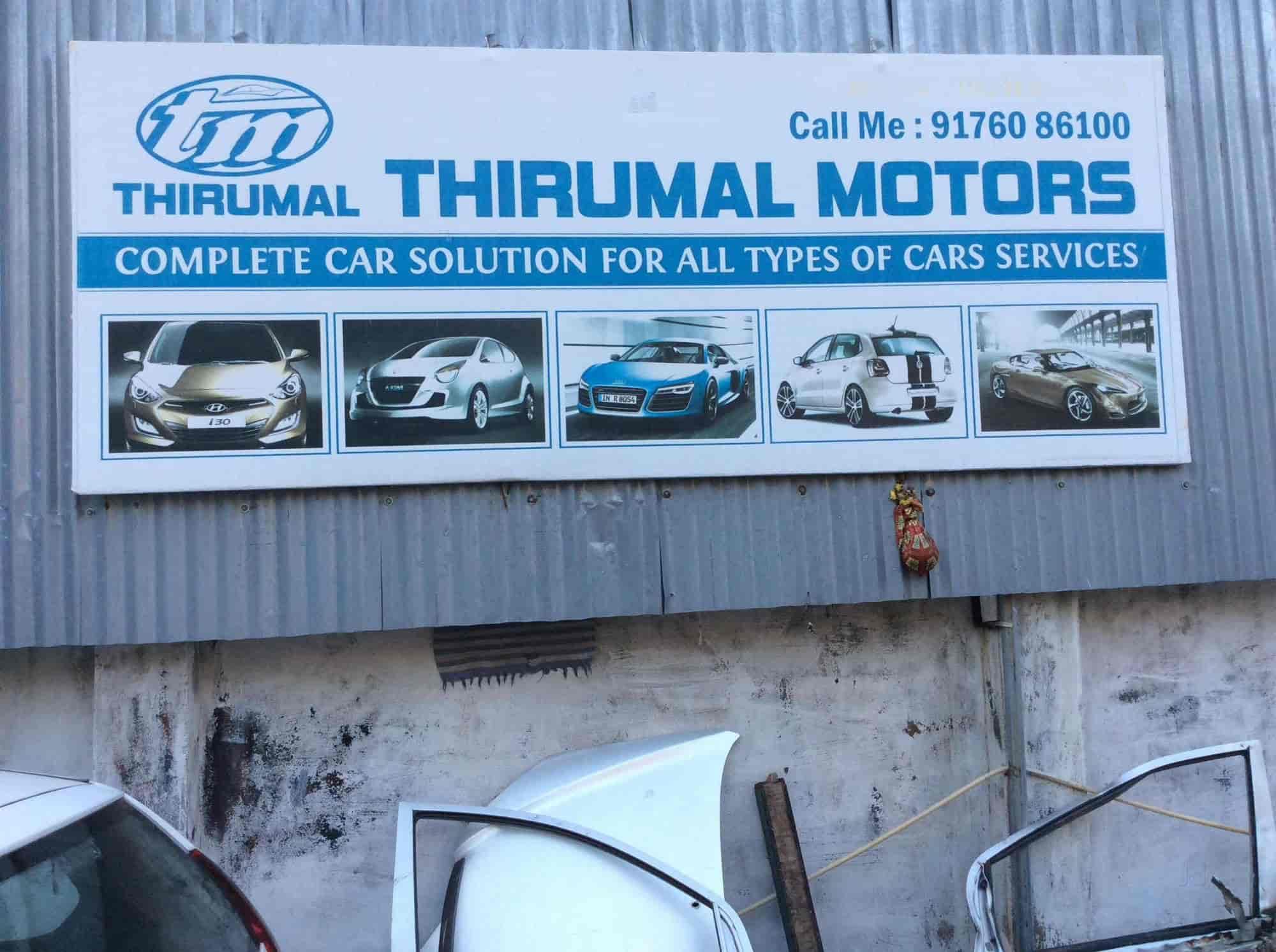 Thirumal Motors Multibrand Car Service Centre Photos - Cool cars service centre