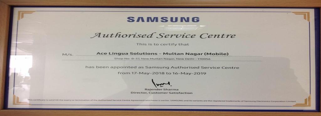Samsung Authorised Mobile Service Centre Paschim Vihar Samsung