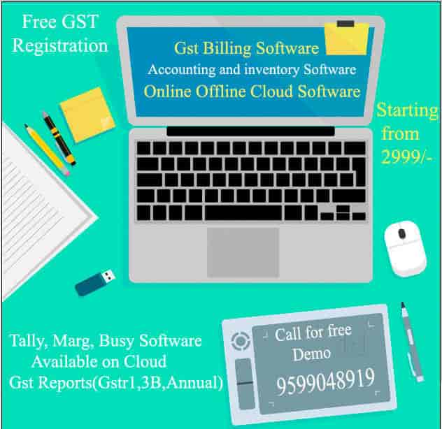 Top 20 Marg Erp Gst Software Dealers in Delhi - Best Marg