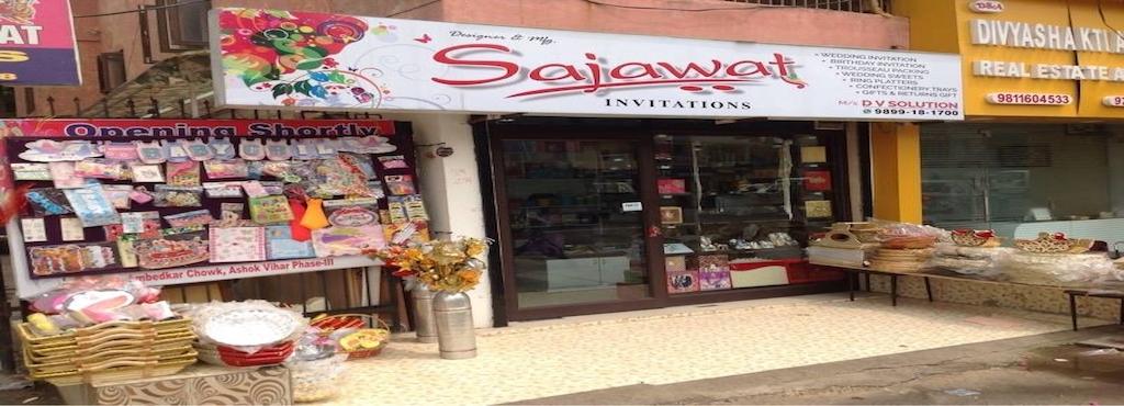 Sajawat invitations ashok vihar wedding card printers in delhi sajawat invitations 40 7 votes ashok vihar stopboris Gallery