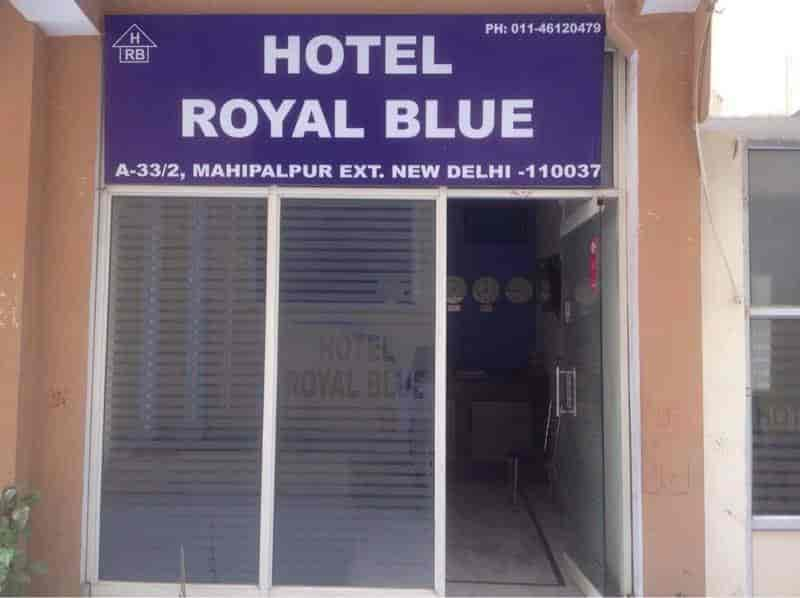 Hotel Royal Blue In Mahipalpur Delhi Rates Room Booking Justdial