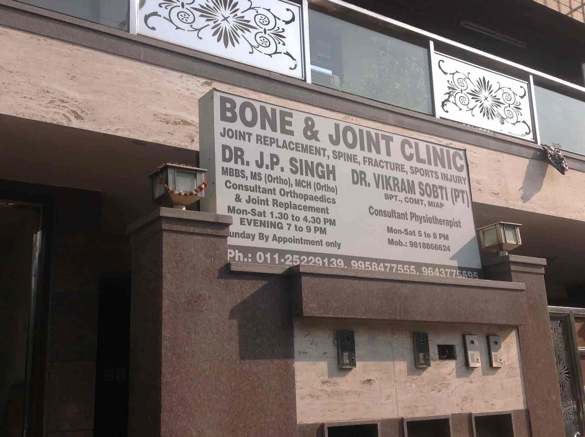 Bone & Joint Clinic - Orthopaedic Doctors - Book Appointment