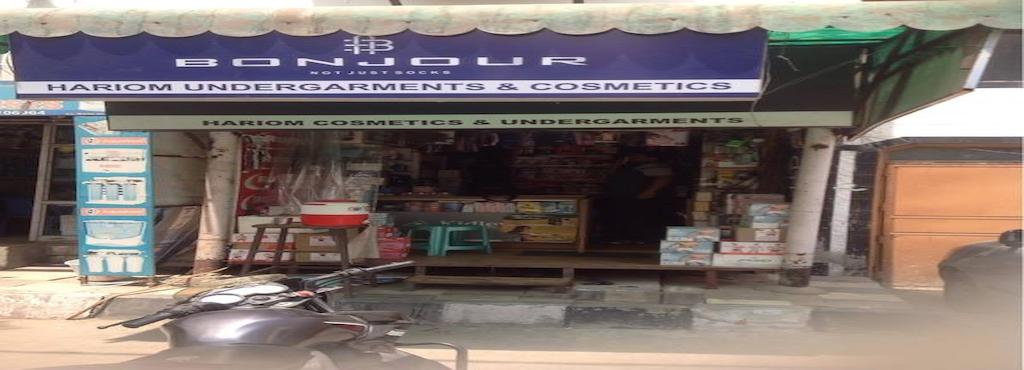 aece53514 Hari Om Cosmetics   Hosiery Shop