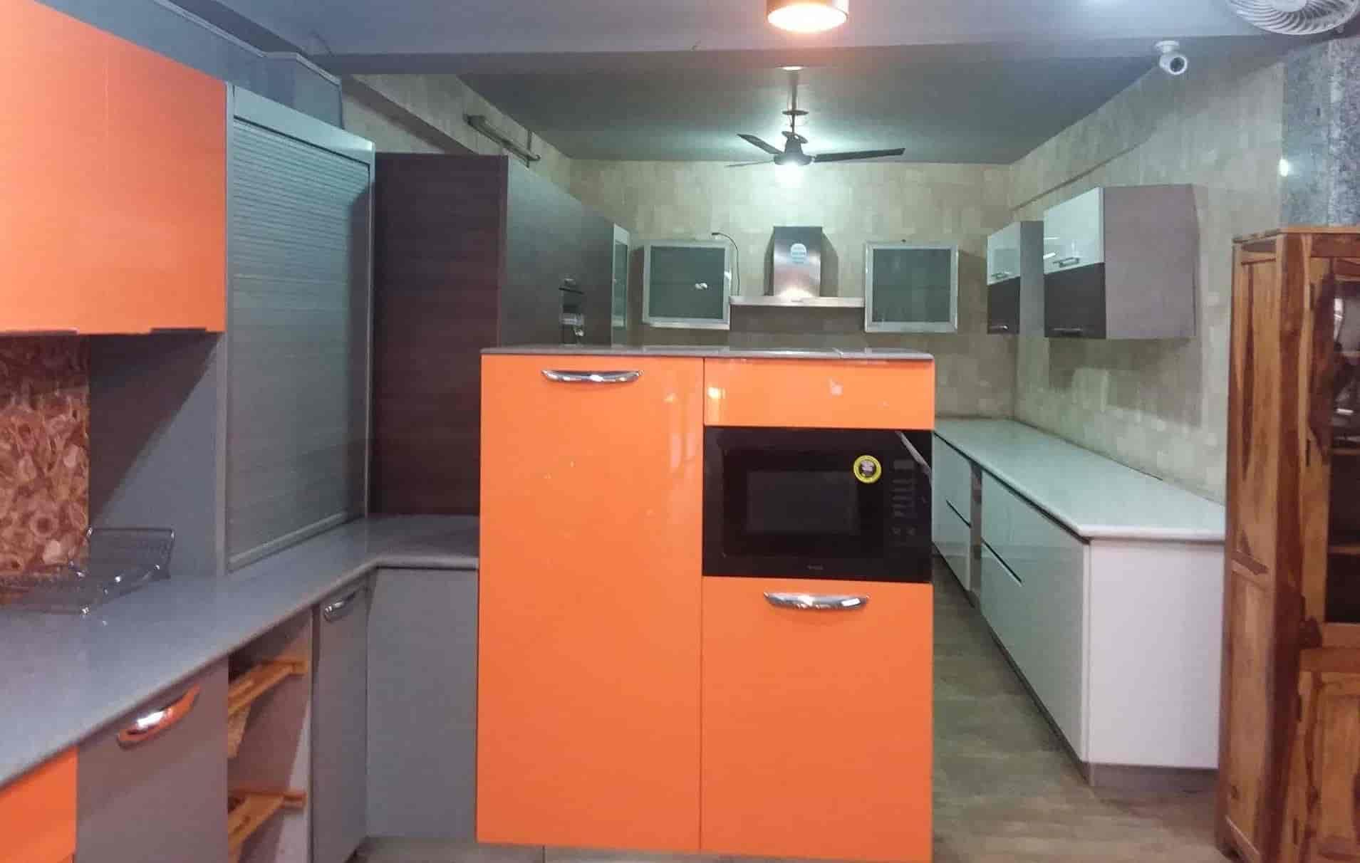 Modern Living Extn Mehrauli Modular Kitchen