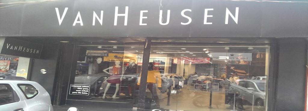 0515e6da9 Van Heusen Exclusive Showroom