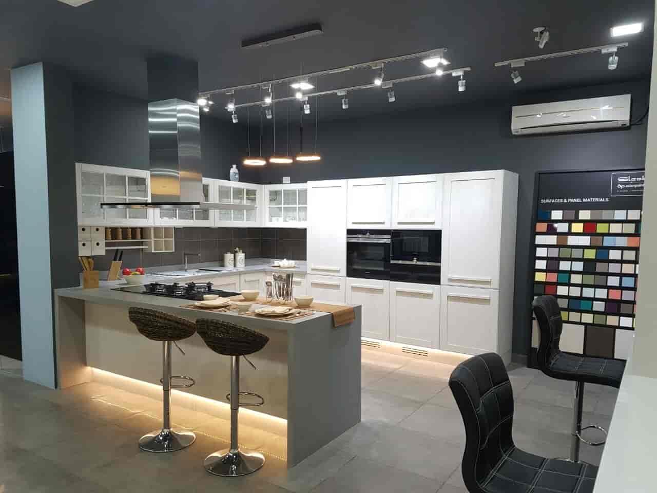 sleek modular kitchen designs. Sleek Modular Kitchen  Vyttila Wooden Dealers in Ernakulam Justdial