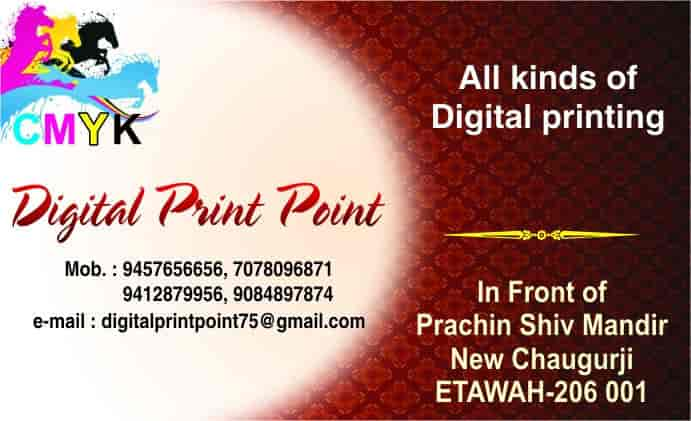 Top 10 Printing Services in Chakar Nagar, Etawah - Best
