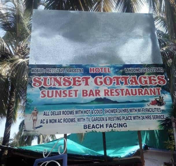 Sunset Cottages Resort Calangute Resorts In Goa In Goa