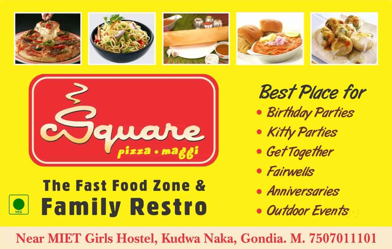 C Square Coffee AND LOTS MORE, Kudwa, Gondia - Restaurants - Justdial