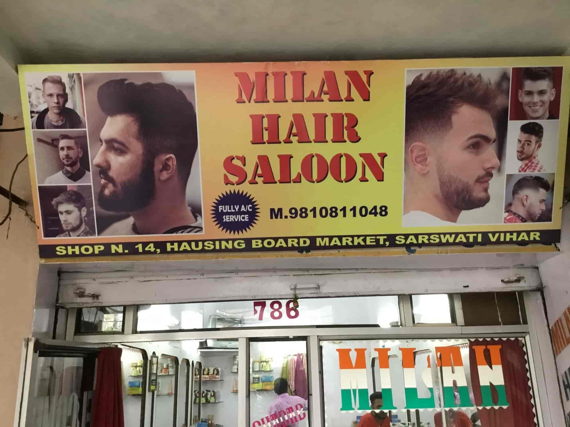 Milan Hair Cutting Saloon Photos, Chakkarpur, delhi