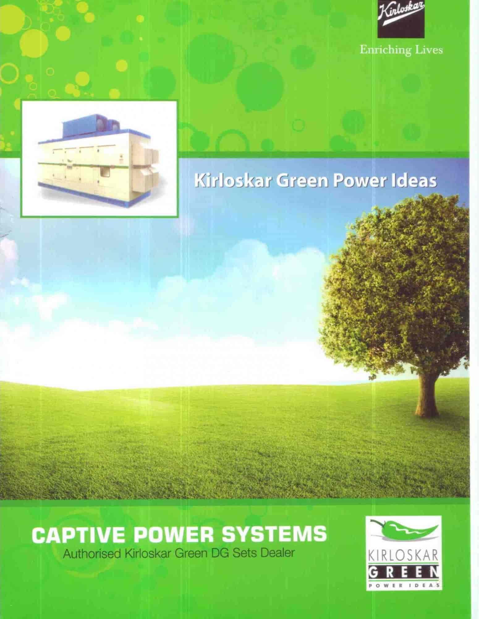 Captive Power Systems s Sarojini Devi Road Hyderabad