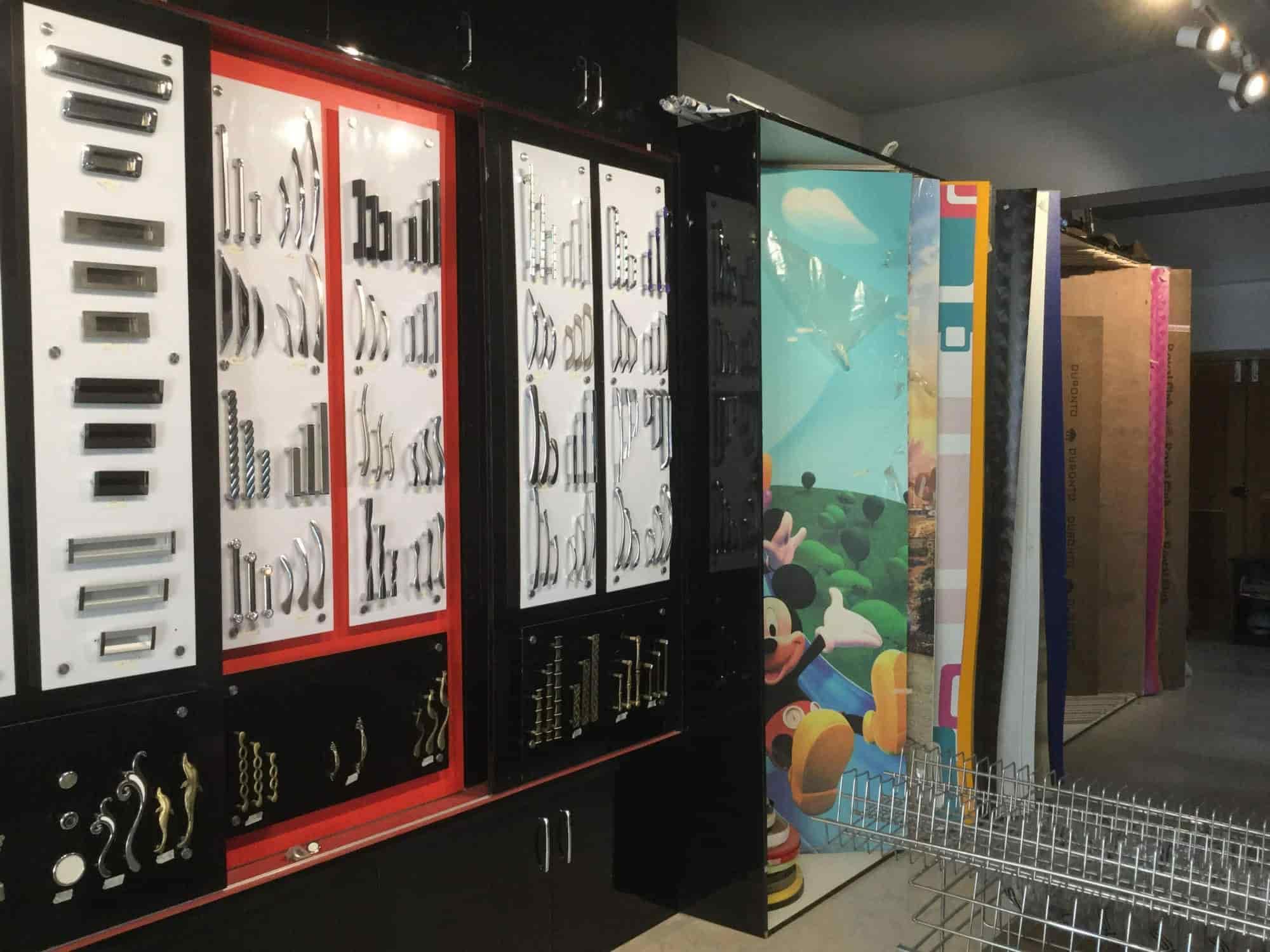Inside View Of Interior Designer Shop