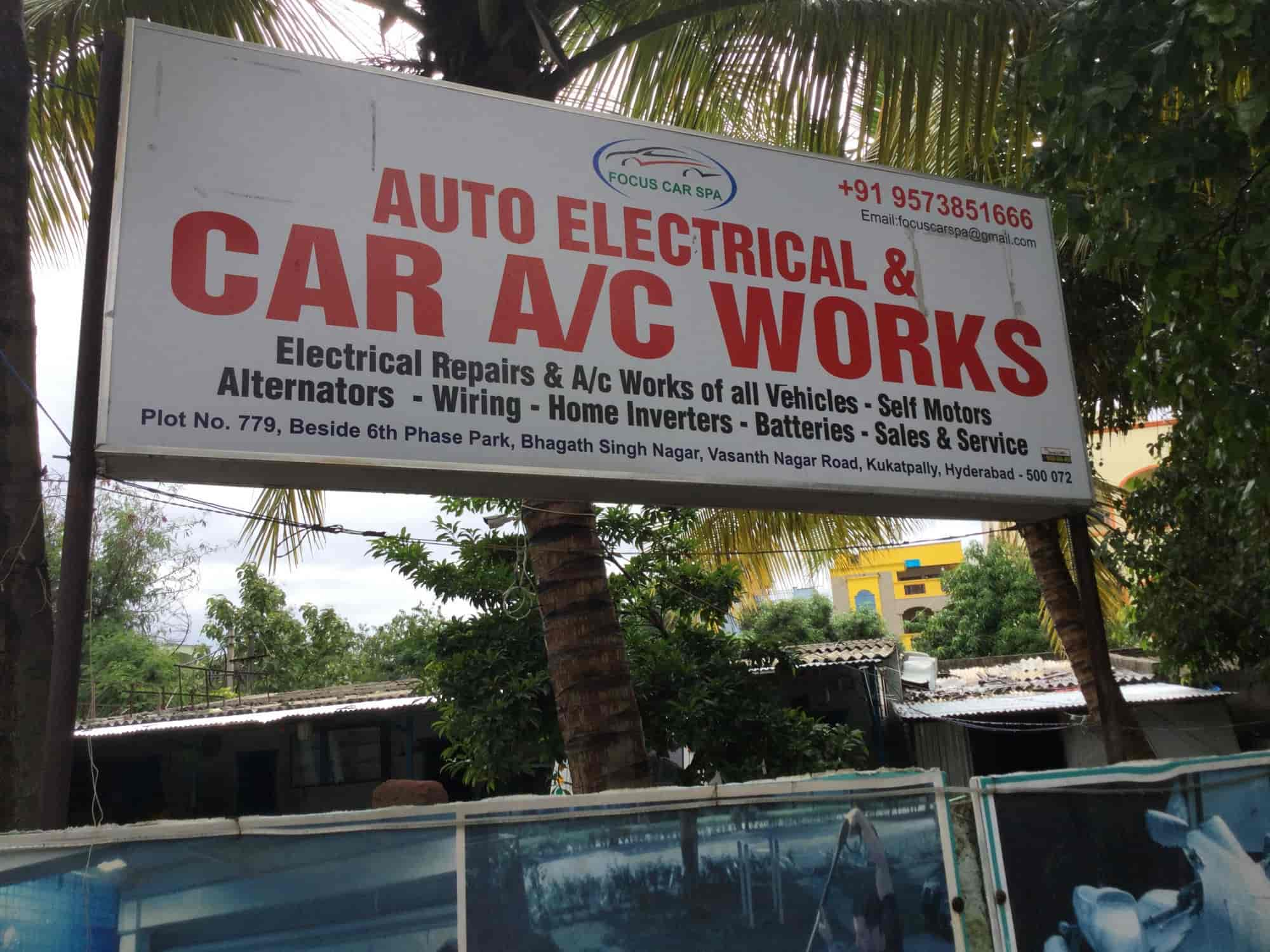 Focus Auto Electrical Car Ac Works Photos Bhagat Singh Nagar Wiring Signboard View Kukatpally