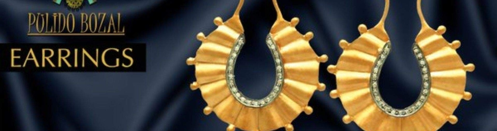 Gold Plated Sterling Silver Jewellery Buy Statement Jewellery Online Pulido Bozal Jaipur