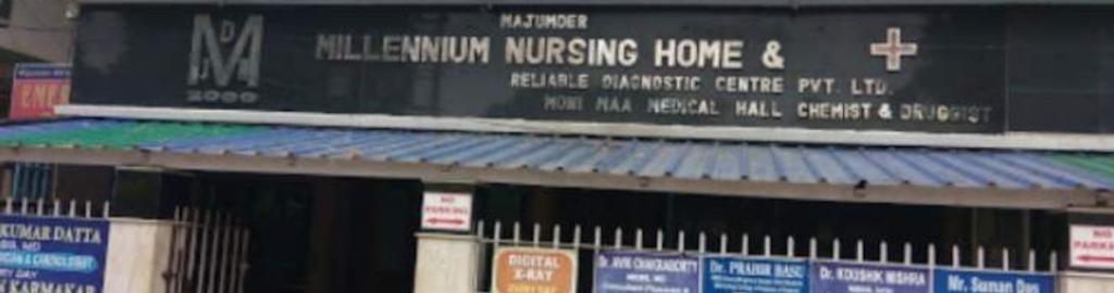 majumder millennium nursing home reliable diagnostic centre pvt ltd