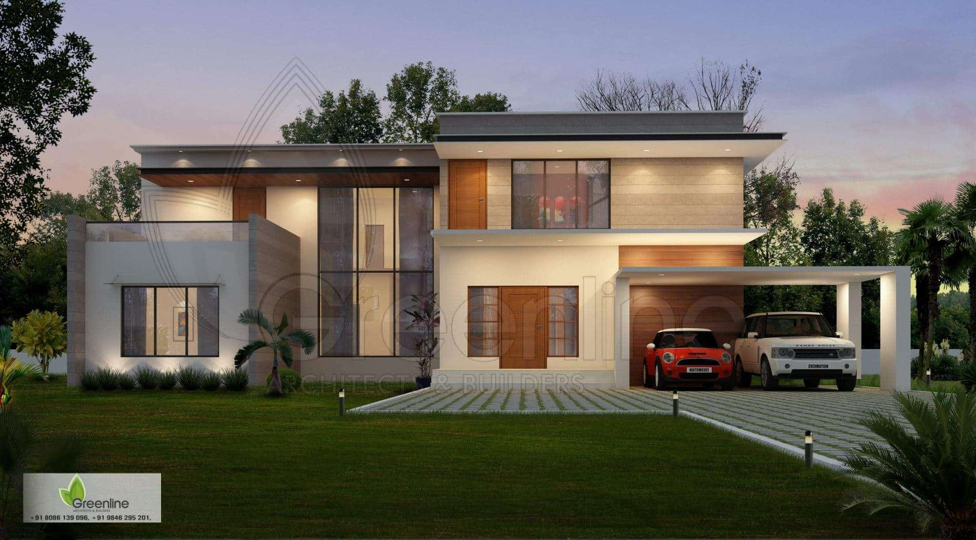 Wg Builders greenline architects builders calicut ho residence interior