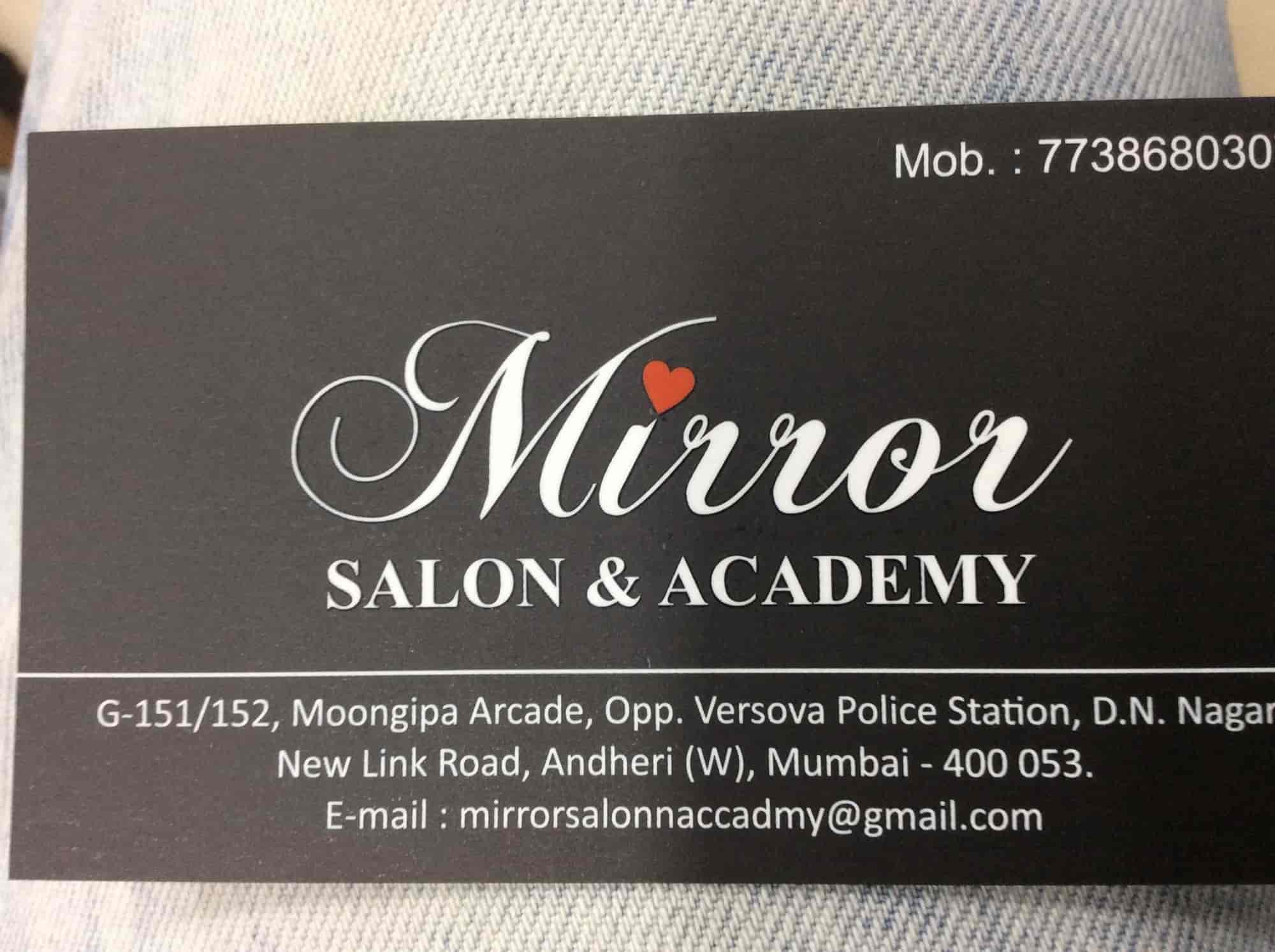 Mirror salon academy andheri west beauty spas in mumbai justdial magicingreecefo Image collections