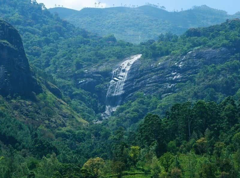 Chinnak Waterfalls Power House Falls