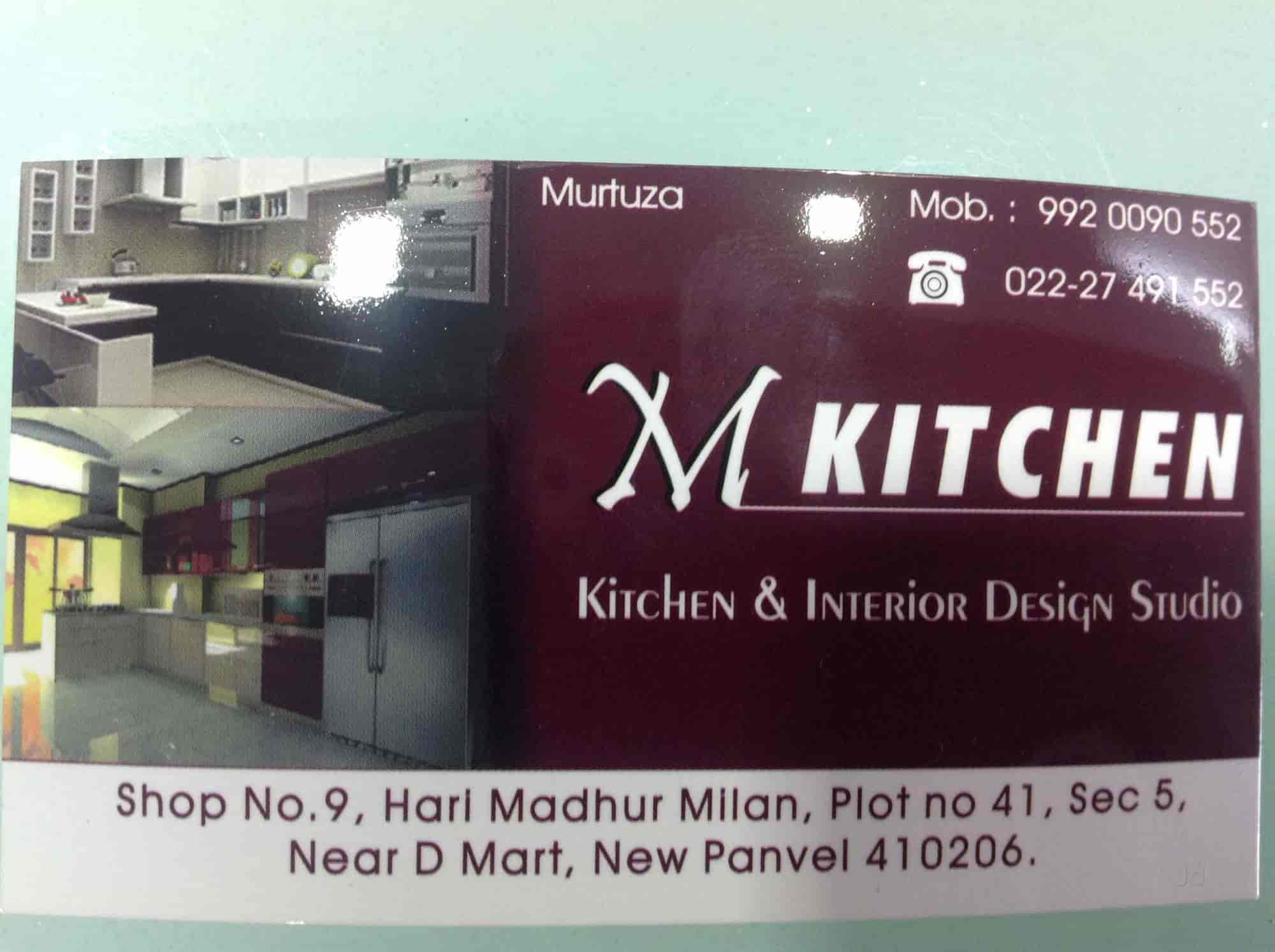 ... Visiting Card   M Kitchen Photos, New Panvel, Mumbai   Residence  Interior Designers ...