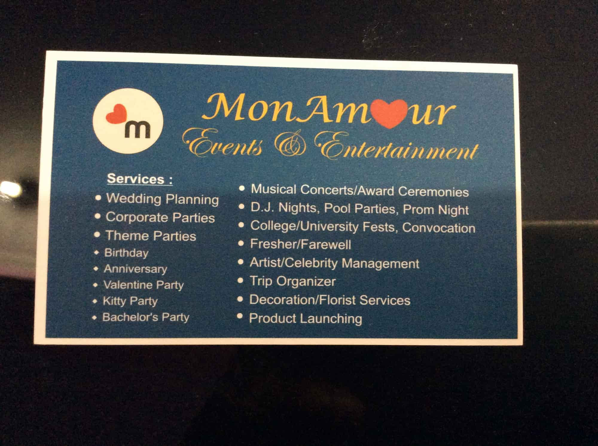 Mon Amour Event Entertainment Greater Noida Event Organisers