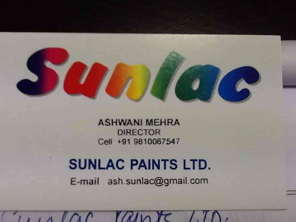 Sunlac Paints Ltd, Surajpur Industrial Area - Paint