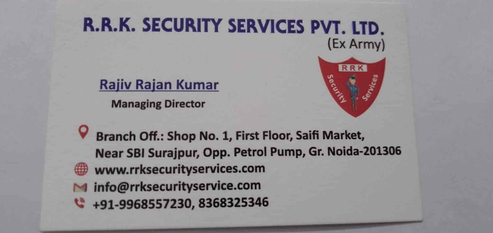 RRK Security services pvt ltd Photos, Surajpur, Noida- Pictures