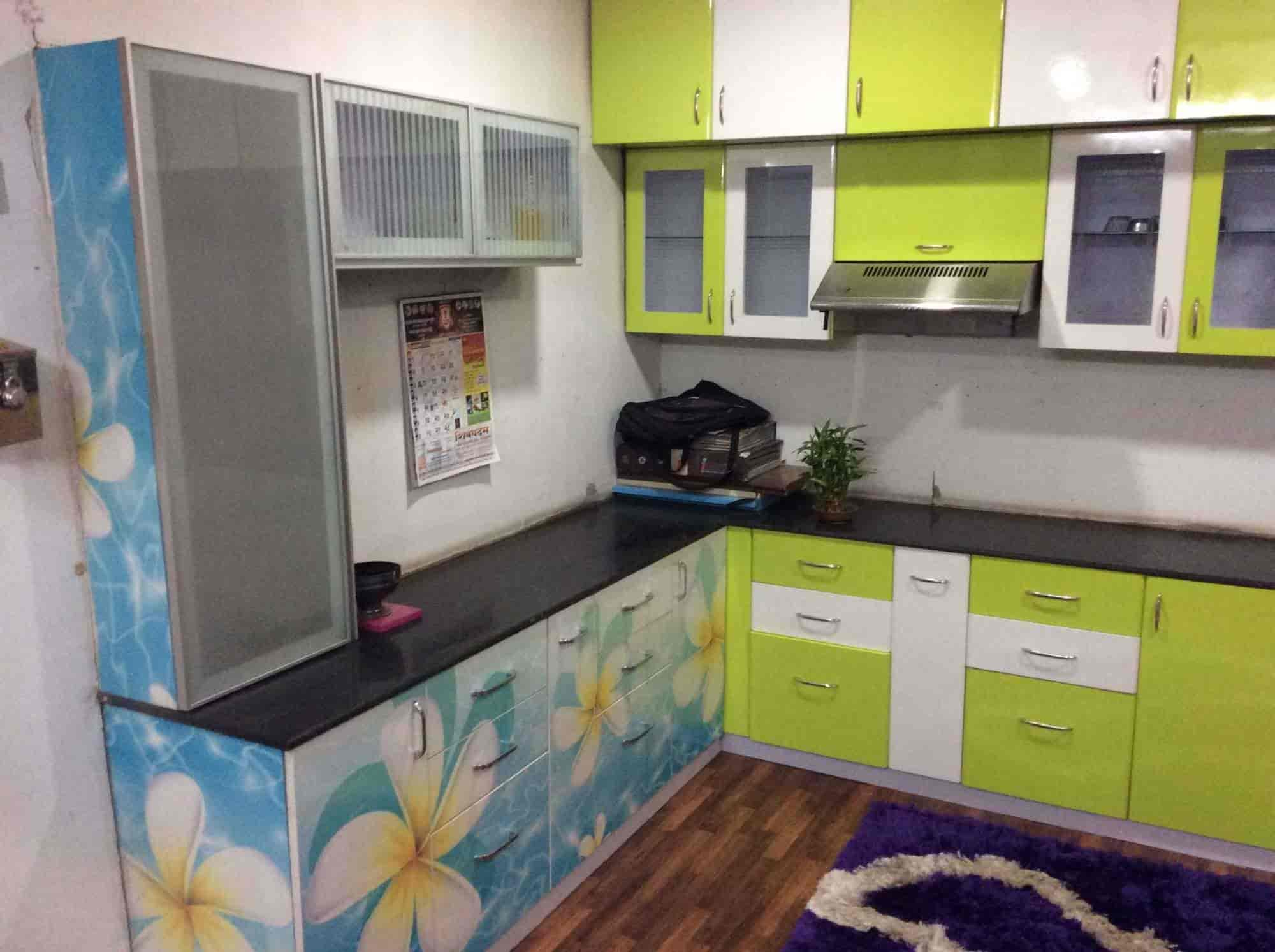 Mahalaxmi Modular Kitchen Trolley, Mundhwa - Mahaluxmi Modular ...