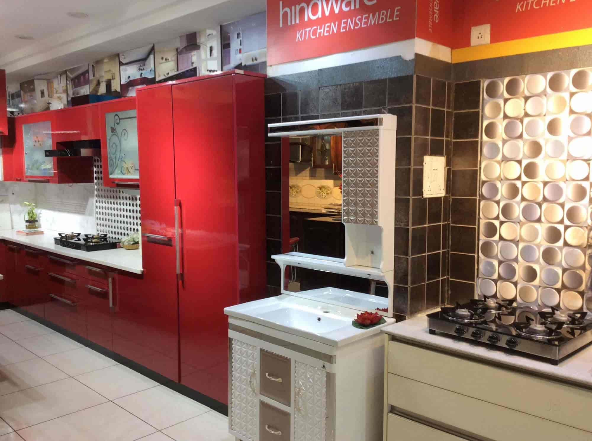 ... Inside View Of Modular Kitchen Shop   Kitchen World Photos, , Shimla    Modular Kitchen ...