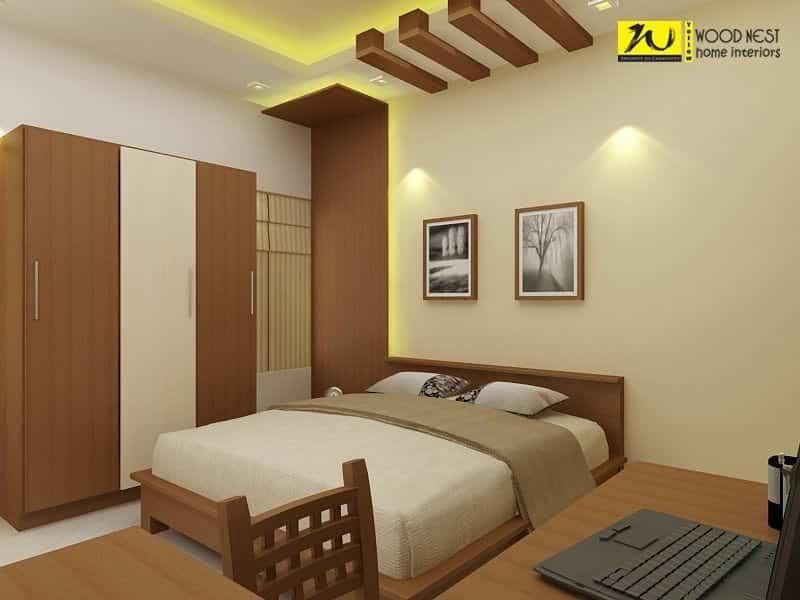 Yellow Wood Nest Home Interiors Photos, Olarikkara, Thrissur ...