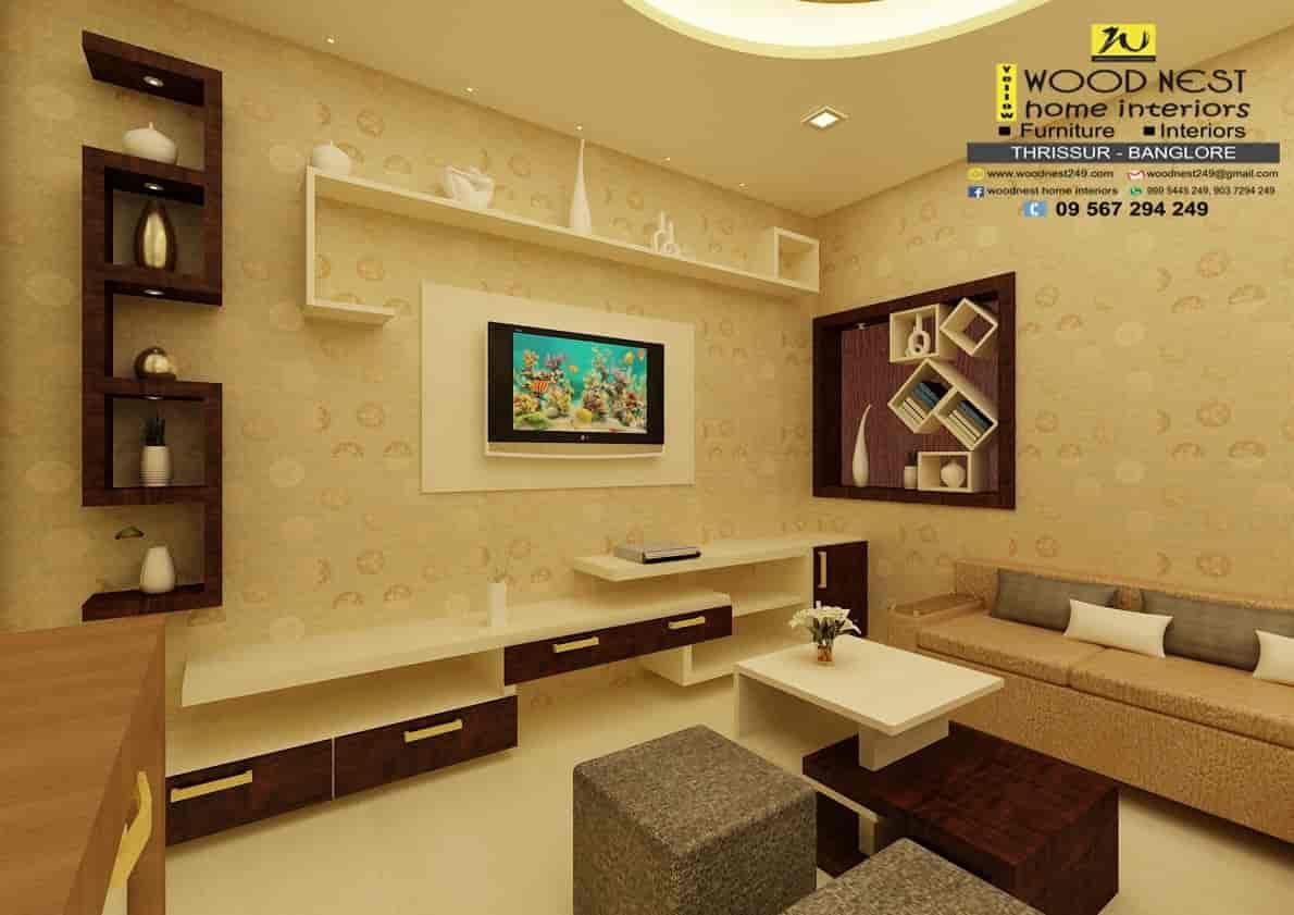Yellow Wood Nest Home Interiors, Olarikkara - Interior Designers ...