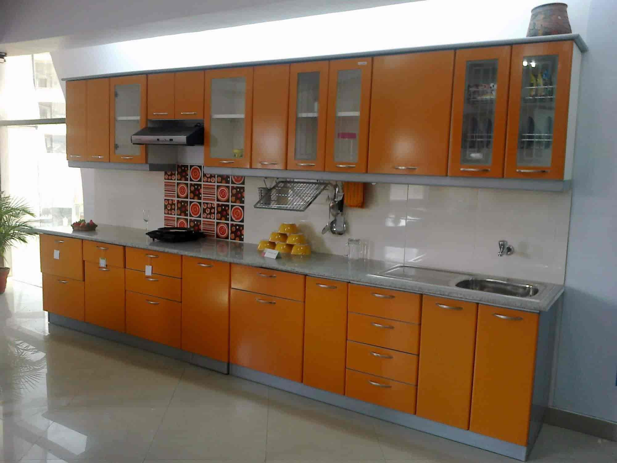 Bonito Cocina Modular Diseña Godrej Ideas Ornamento Elaboración ...