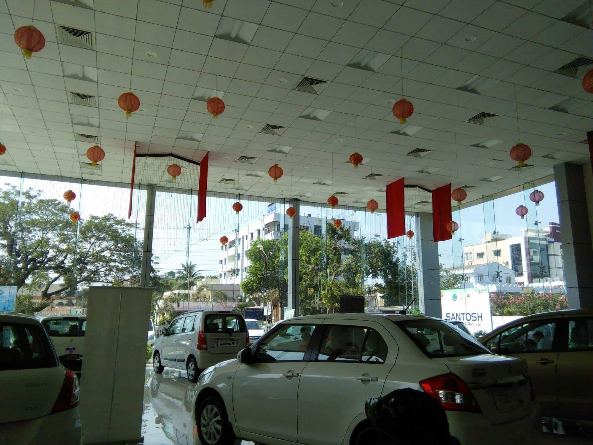 Santosh Automotors Pvt Ltd Kanuru Car Dealers Maruti Suzuki In