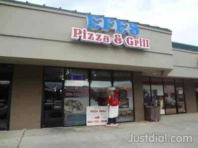 Efes Pizza Grill 9550 Baymeadows Rd Jacksonville FL
